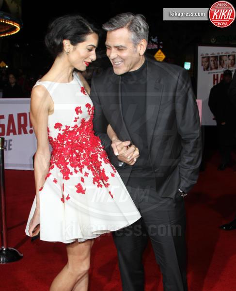 Amal Alamuddin, George Clooney - Los Angeles - 01-02-2016 - George Clooney pensa alla Casa Bianca