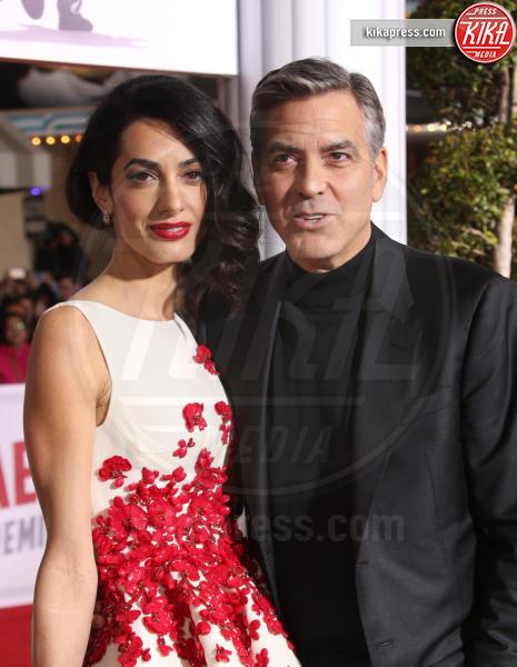 Amal Alamuddin, George Clooney - Westwood - 02-02-2016 - George Clooney e Amal aspettano due gemelli, è ufficiale