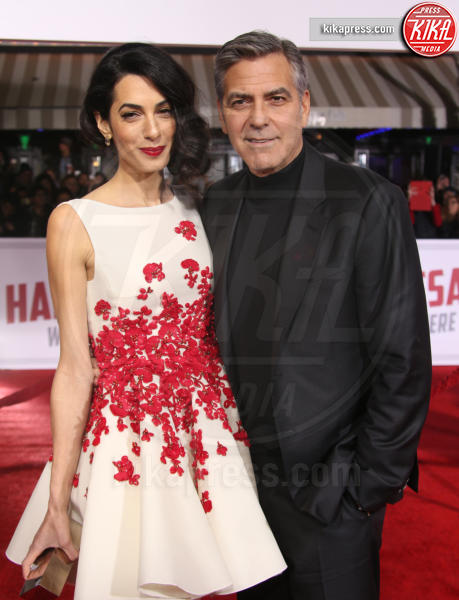 Amal Alamuddin, George Clooney - Westwood - 02-02-2016 - George Clooney: l'incredibile retroscena dietro la paternità