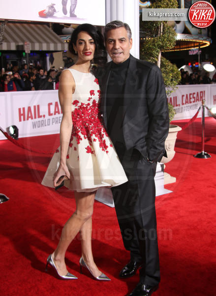 Amal Alamuddin, George Clooney - Westwood - 02-02-2016 - George Clooney: