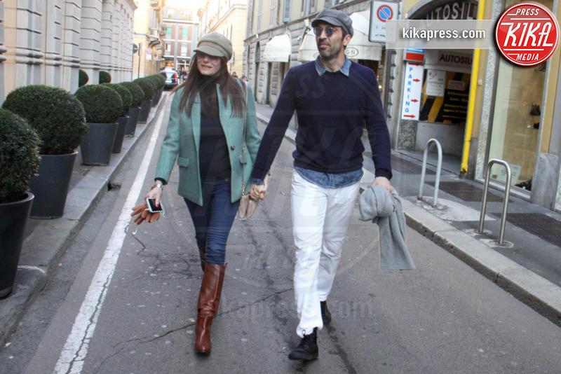 Ilaria d'Amico, Gianluigi Buffon - Milano - 04-02-2016 - Star come noi: la coppia ha bisogno dei suoi spazi