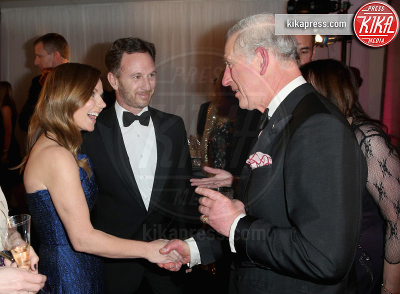 Christian Horner, Principe Carlo d'Inghilterra, Geri Halliwell - Londra - 05-02-2016 - Geri Halliwell è incinta: la Spice Girls sarà mamma bis