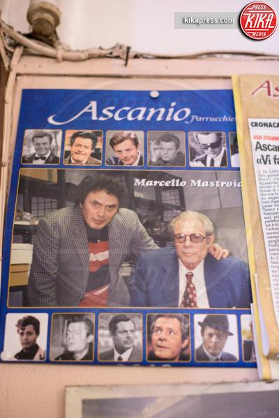 Ascanio Agnano, Marcello Mastroianni - Torino - 08-02-2016 - Dal barbiere Ascanio: nel suo salone una schiera di vip