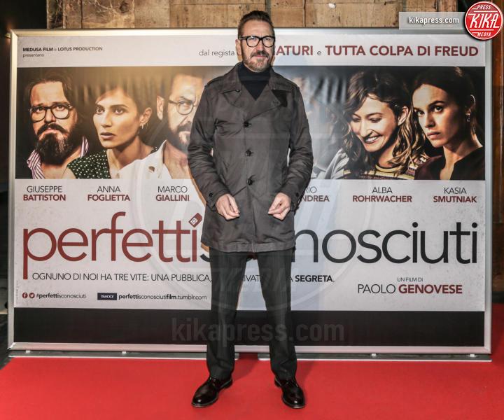 Marco Giallini - Milano - 08-02-2016 - 60° David: Perfetti Sconosciuti è il miglior film