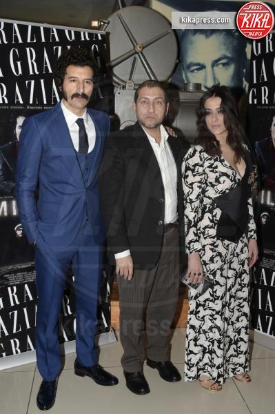 Alessandro Piva, Valentina Lodovini, Francesco Scianna - Roma - 09-02-2016 - Francesco Scianna, un gangaster baffone e milionario