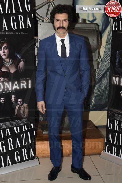 Francesco Scianna - Roma - 09-02-2016 - Francesco Scianna, un gangaster baffone e milionario