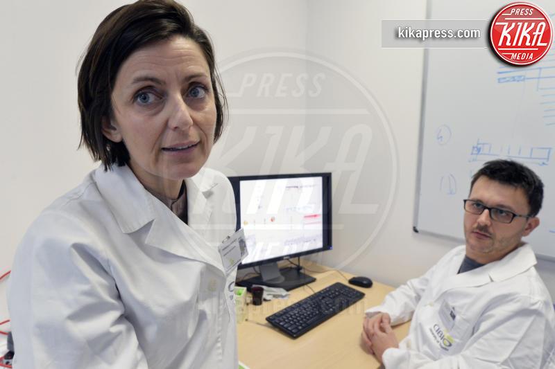 Davide Prandi, Francesca Demichelis - Trento - 04-02-2016 - Non è una battuta: tumore alla prostata, la cura è donna