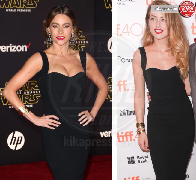 Amber Heard, Sofia Vergara - 10-02-2016 - Chi lo indossa meglio? Sofia Vergara e Amber Heard