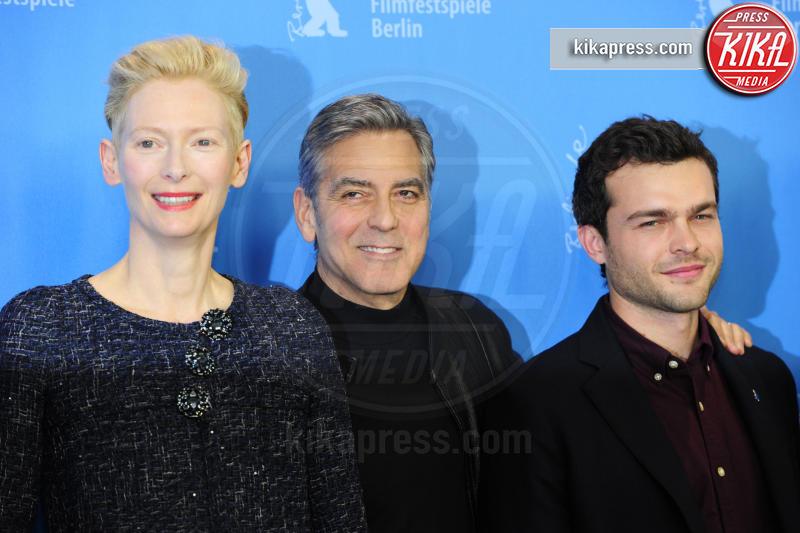Alden Ehrenreich, Tilda Swinton, George Clooney - Berlino - 11-02-2016 - Alden Ehrenreich sarà Han Solo in uno spin off di Star Wars