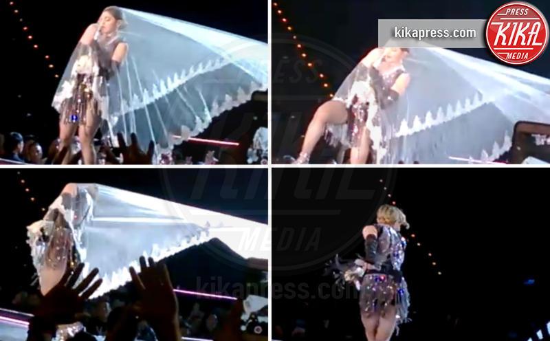 Madonna - Bangkok - 11-02-2016 - Star come noi: mamma che capitombolo!