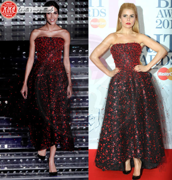 Rocio Munoz Morales, Paloma Faith - 12-02-2016 - Chi lo indossa meglio? Sanremo vs Hollywood