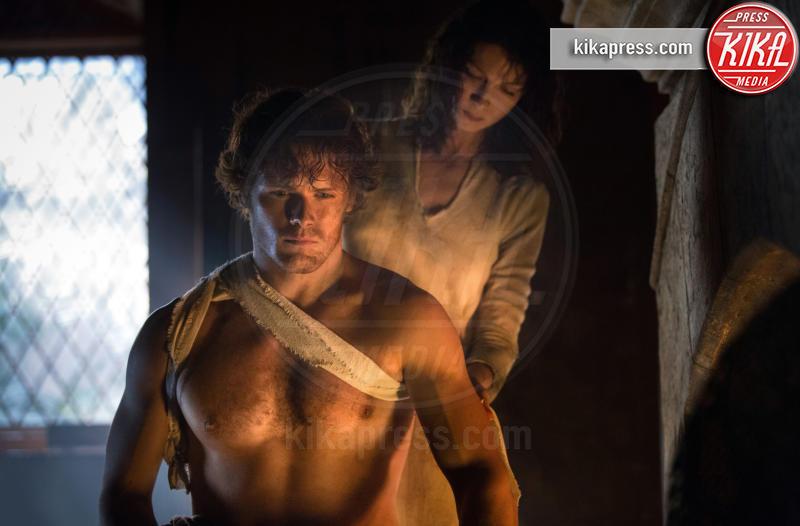 Caitriona Balfe, Sam Heughan - Outlander, dal 9 aprile in TV la seconda serie