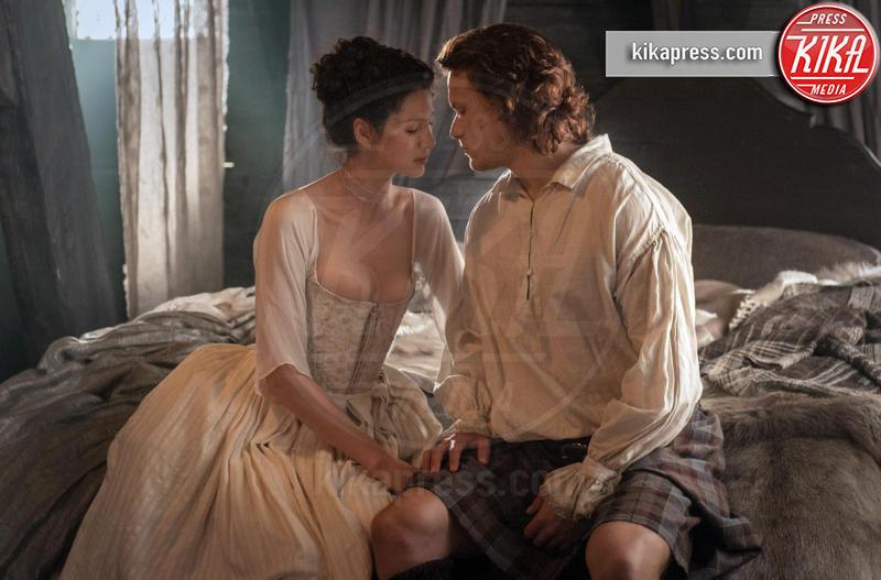 Caitriona Balfe, Sam Heughan - - - 22-10-2015 - Outlander, dal 9 aprile in TV la seconda serie