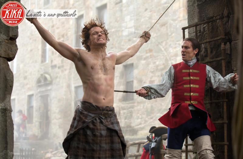 Tobias Menzies, Sam Heughan - Outlander, dal 9 aprile in TV la seconda serie