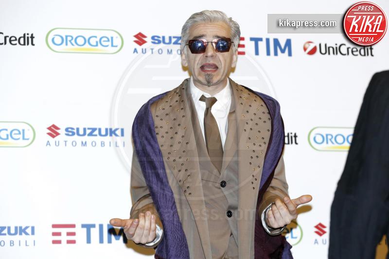 Morgan - Sanremo - 12-02-2016 - Live Non è la D'Urso, Morgan: