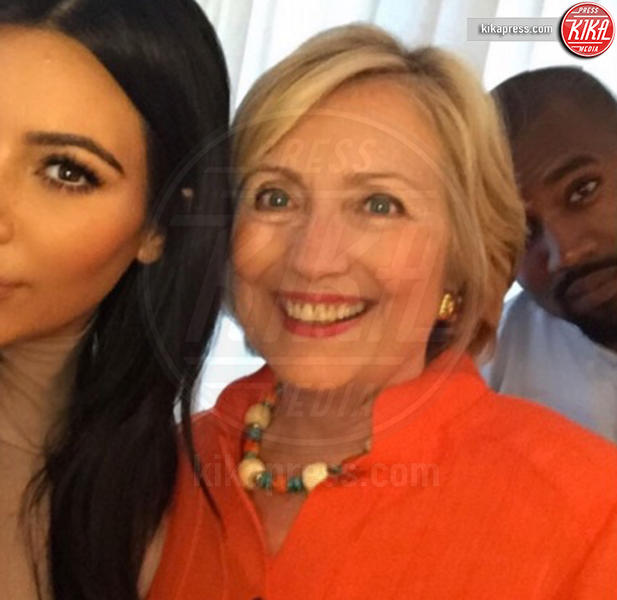 Hillary Clinton, Kim Kardashian, Kanye West - Hollywood - 19-02-2016 - Star come noi: l'impegno politico delle star