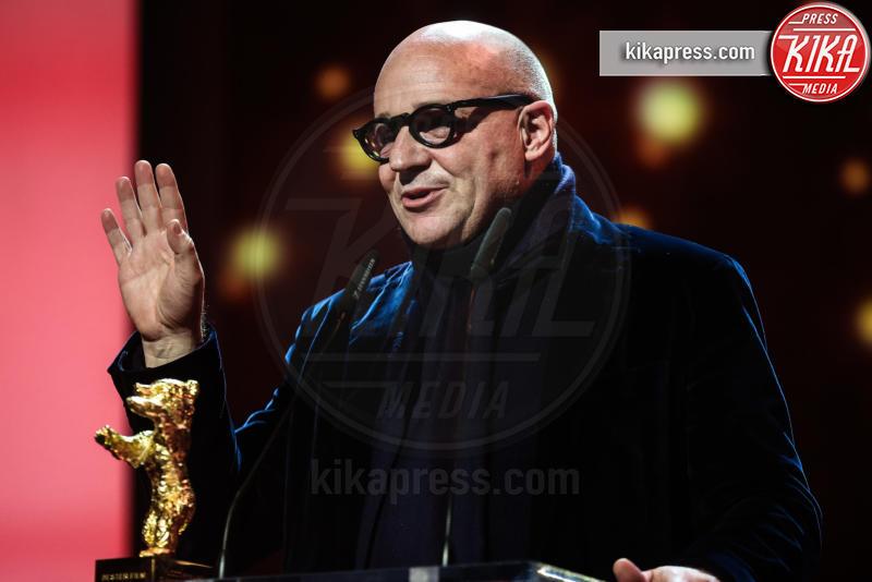 Gianfranco Rosi - Berlino - 21-02-2016 - Oscar 2017: Fuocoammare vola agli Academy Awards