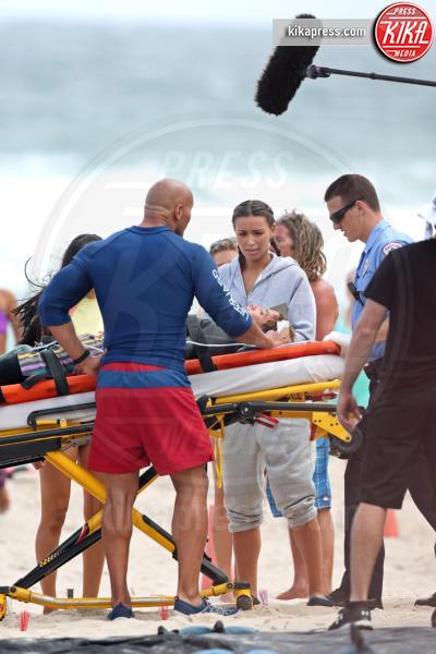Ilfenesh Hadera, Dwayne Johnson - Boca Raton - 23-02-2016 - Baywatch: il primo salvataggio di Dwayne