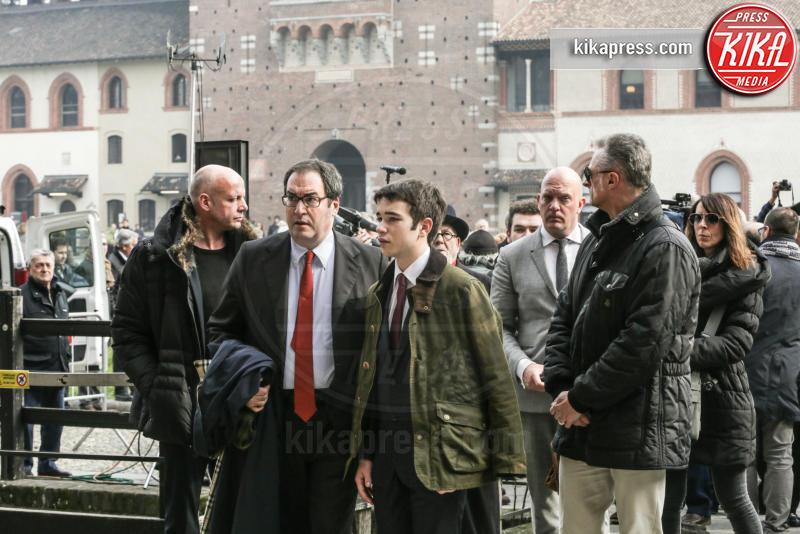 Stefano Eco, Emanuele Eco - 23-02-2016 - Addio Maestro: l'ultimo commosso saluto a Umberto Eco