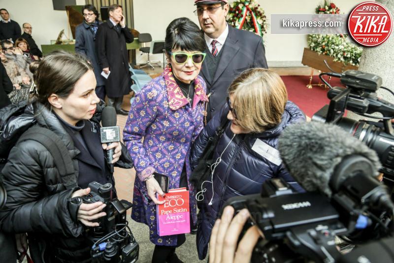 Elisabetta Sgarbi - Milano - 23-02-2016 - Addio Maestro: l'ultimo commosso saluto a Umberto Eco