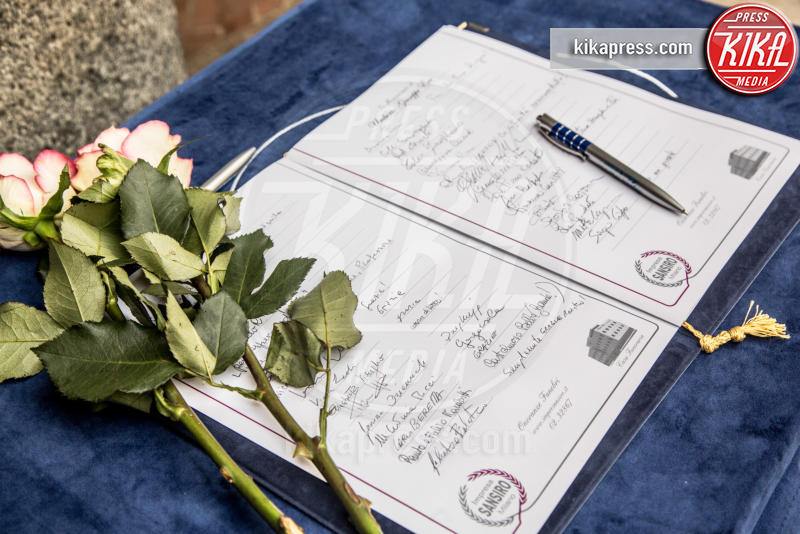 Funerali Umberto Eco - Milano - 23-02-2016 - Addio Maestro: l'ultimo commosso saluto a Umberto Eco