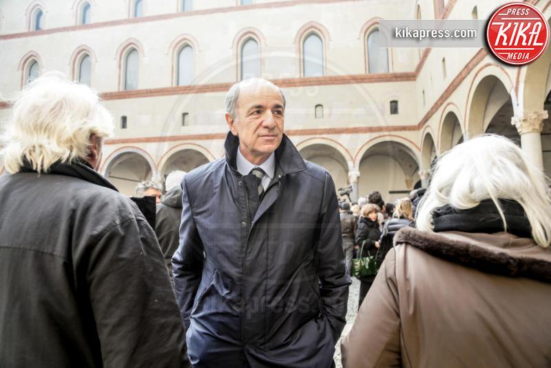 Corrado Passera - Milano - 23-02-2016 - Addio Maestro: l'ultimo commosso saluto a Umberto Eco