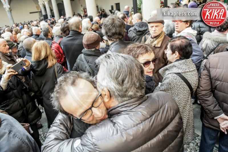 Nicoletta Braschi, Carlo De Benedetti, Roberto Benigni - 23-02-2016 - Addio Maestro: l'ultimo commosso saluto a Umberto Eco