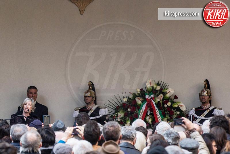 Stefania Giannini - 23-02-2016 - Addio Maestro: l'ultimo commosso saluto a Umberto Eco