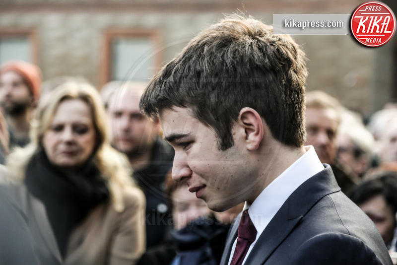 Emanuele Eco - Milano - 23-02-2016 - Addio Maestro: l'ultimo commosso saluto a Umberto Eco