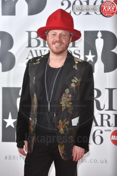 Leigh Francis - Londra - 24-02-2016 - Kylie Minogue arriva con il futuro marito ai Brit Awards