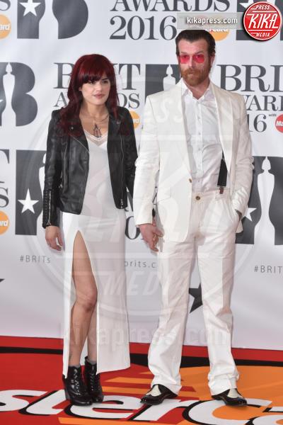 Jesse Hughes - Londra - 24-02-2016 - Kylie Minogue arriva con il futuro marito ai Brit Awards