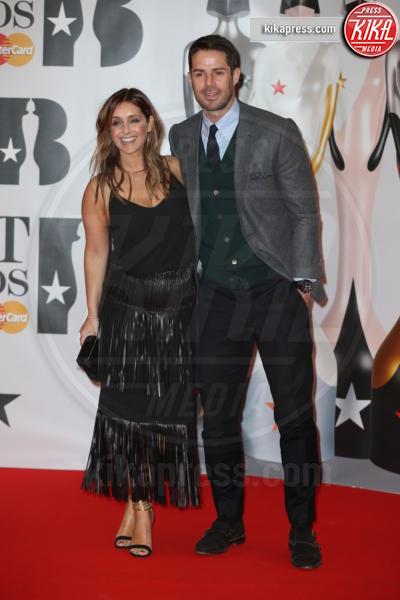 Louise Redknapp, Jamie Redknapp - 24-02-2016 - Kylie Minogue arriva con il futuro marito ai Brit Awards
