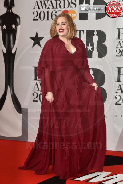 Adele Adkins - Londra - 24-02-2016 - Kylie Minogue arriva con il futuro marito ai Brit Awards