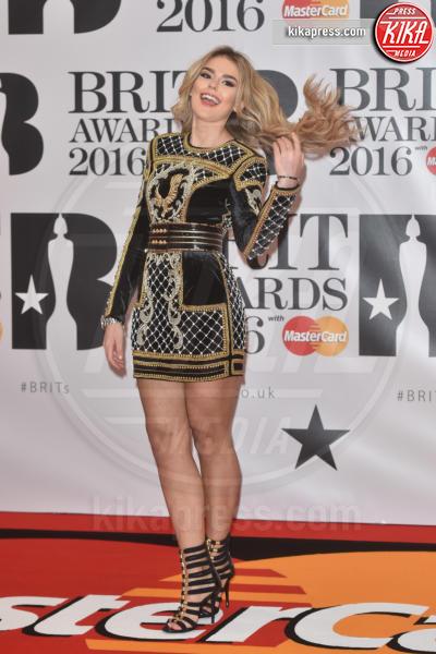 Talia Storm - Londra - 24-02-2016 - Kylie Minogue arriva con il futuro marito ai Brit Awards