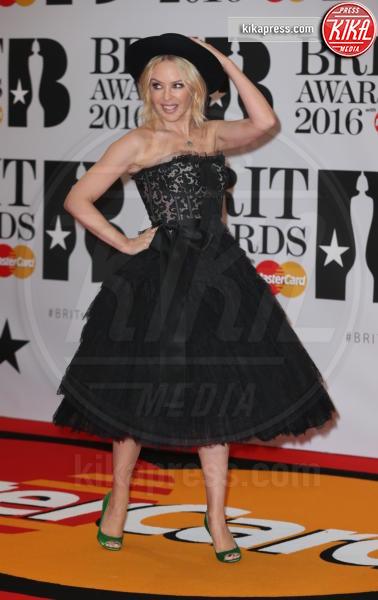 Kylie Minogue - Londra - 24-02-2016 - Kylie Minogue arriva con il futuro marito ai Brit Awards