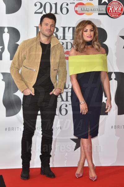 Mark Wright, Jessica Wright - Londra - 24-02-2016 - Kylie Minogue arriva con il futuro marito ai Brit Awards