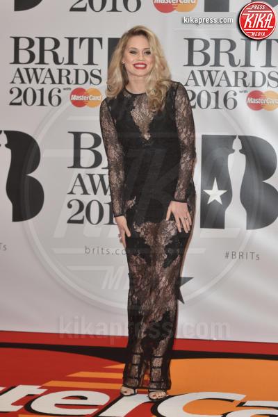 Kimberly Wyatt - Londra - 24-02-2016 - Kylie Minogue arriva con il futuro marito ai Brit Awards