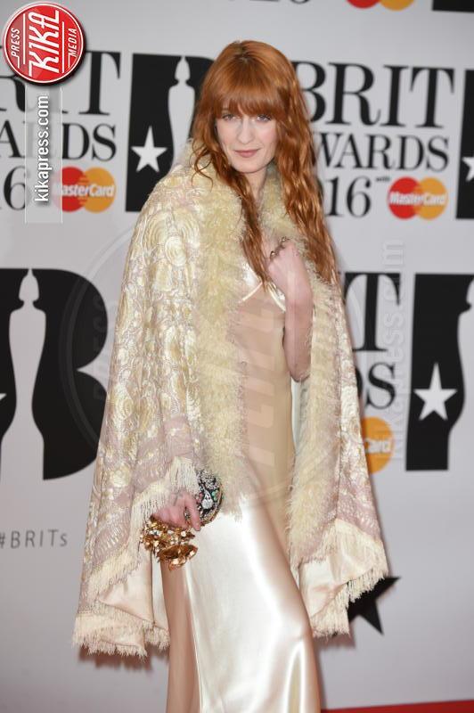 Florence Welch - Londra - 24-02-2016 - Kylie Minogue arriva con il futuro marito ai Brit Awards