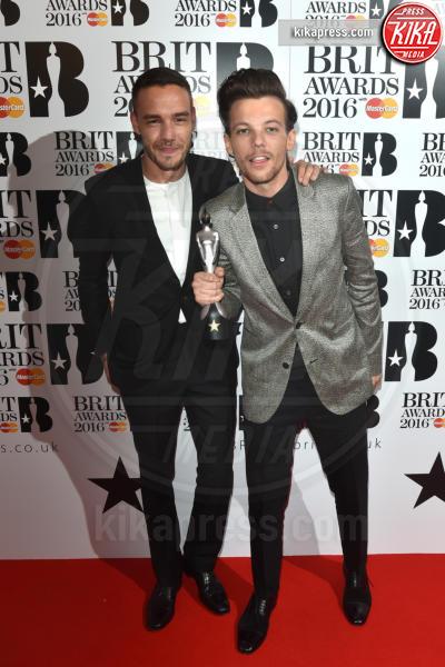 Liam Payne, Louis Tomlinson - Londra - 24-02-2016 - Brit Awards 2016, trionfo assoluto di Adele