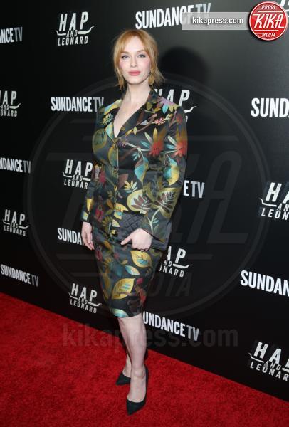 Christina Hendricks - New York - 26-02-2016 - Le celebrity? Sul red carpet e fuori sono regine di... fiori!