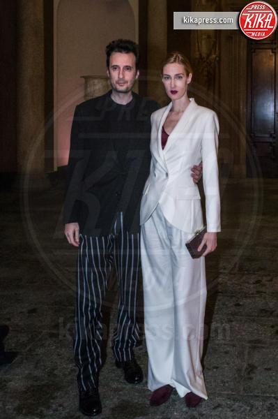 Matteo Ceccarini, Eva Riccobono - Milano - 28-02-2016 - Milano Fashion Week: Rita Ora al Testino party