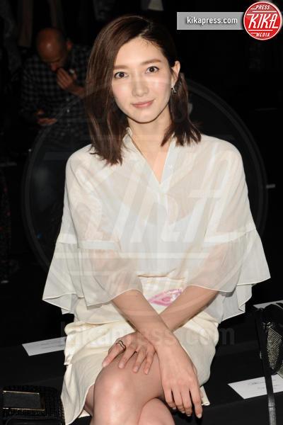 Jiang Shuying - Milano - 28-02-2016 - Milano Fashion Week: Lucky Blue Smith è la star