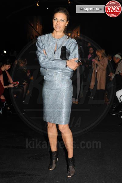 Martina Colombari - Milano - 28-02-2016 - Milano Fashion Week: Lucky Blue Smith è la star