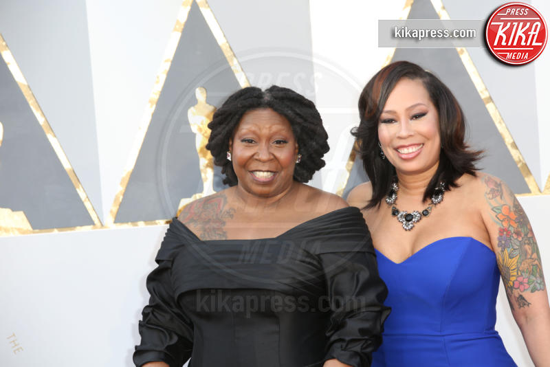 Alex Martin, Whoopi Goldberg - Los Angeles - 28-02-2016 - Paola Perego & Co., le nonne piu' giovani dello showbiz