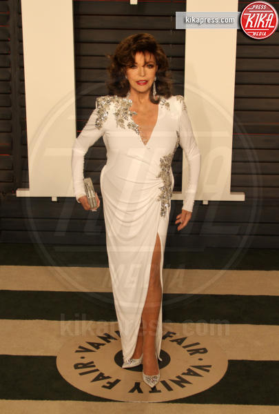 Joan Collins - Los Angeles - 28-02-2016 - Oscar 2016: il tradizionale party Vanity Fair
