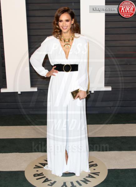 Jessica Alba - Los Angeles - 28-02-2016 - Oscar 2016: il tradizionale party Vanity Fair