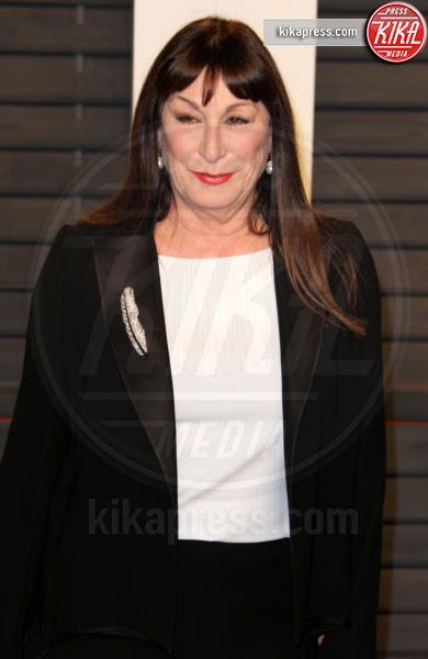 Anjelica Huston - Los Angeles - 28-02-2016 - Oscar 2016: il tradizionale party Vanity Fair