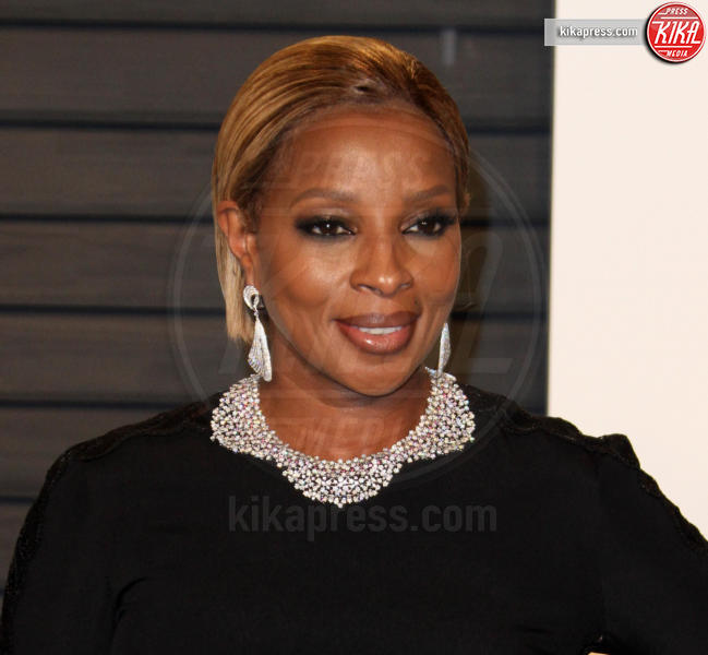 Mary J. Blige - Los Angeles - 28-02-2016 - Oscar 2016: il tradizionale party Vanity Fair