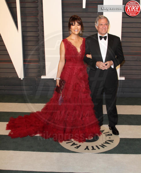 Julie Chen, Leslie Moonves - Los Angeles - 28-02-2016 - Oscar 2016: il tradizionale party Vanity Fair