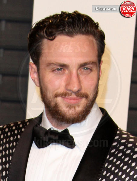 Aaron Taylor-Johnson - Los Angeles - 28-02-2016 - Oscar 2016: il tradizionale party Vanity Fair